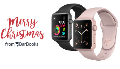 Get Apple Watch with your BarBooks Subscription